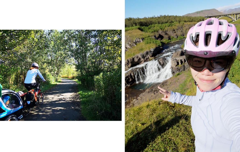 骑行,冰岛,单车旅行