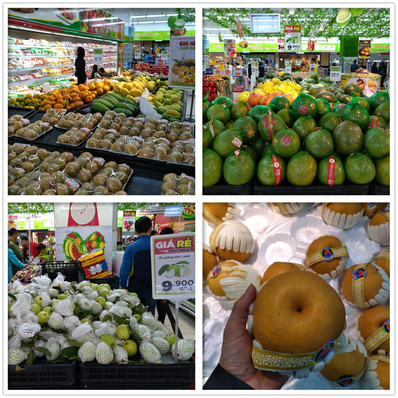 超市里的水果