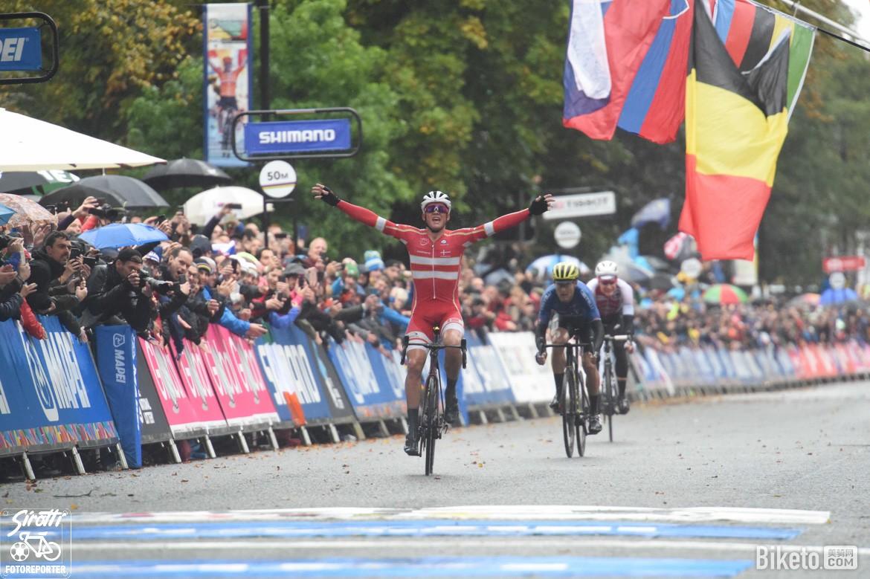 雨后彩虹,丹麥小將佩德森成世界冠軍