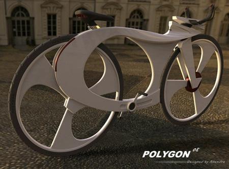 可以放置ipod的概念自行车设计(图文)图片