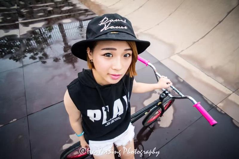 单车美女 | 爱拼的女孩更可爱 狼途ubikeu女队谢嘉欣