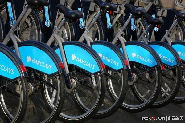 一项最新的有关公共自行车的研究报告称,伦敦的巴克莱公共自行车计划