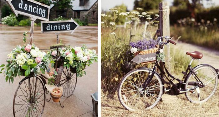 甜蜜的单车婚礼