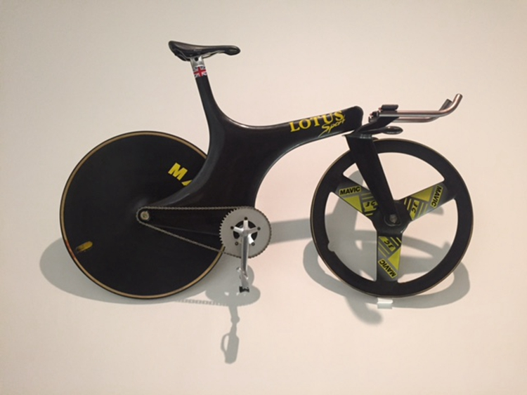 Chris Boardman's famous Lotus 108 bike that ended a 72-year gold medal drought for British cycling(ANDY THORNLEY).jpg