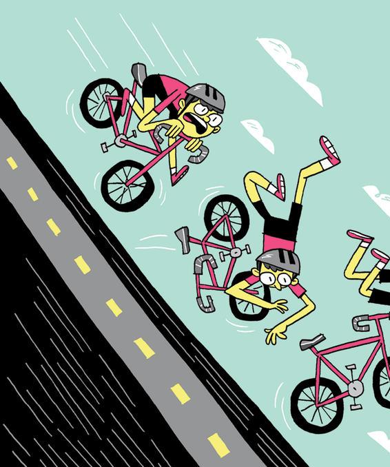 美骑―骑行路上的四种恐惧