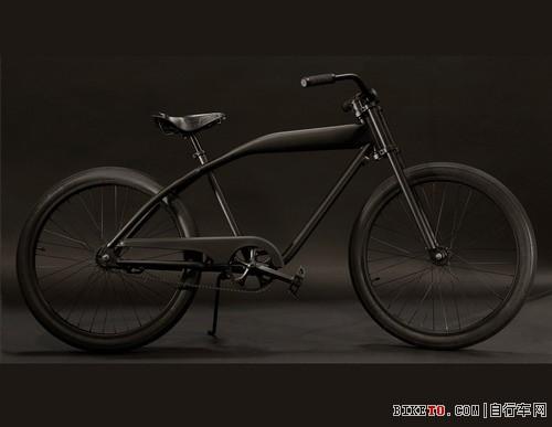 沙滩巡洋舰!james perse的复古自行车(图文)