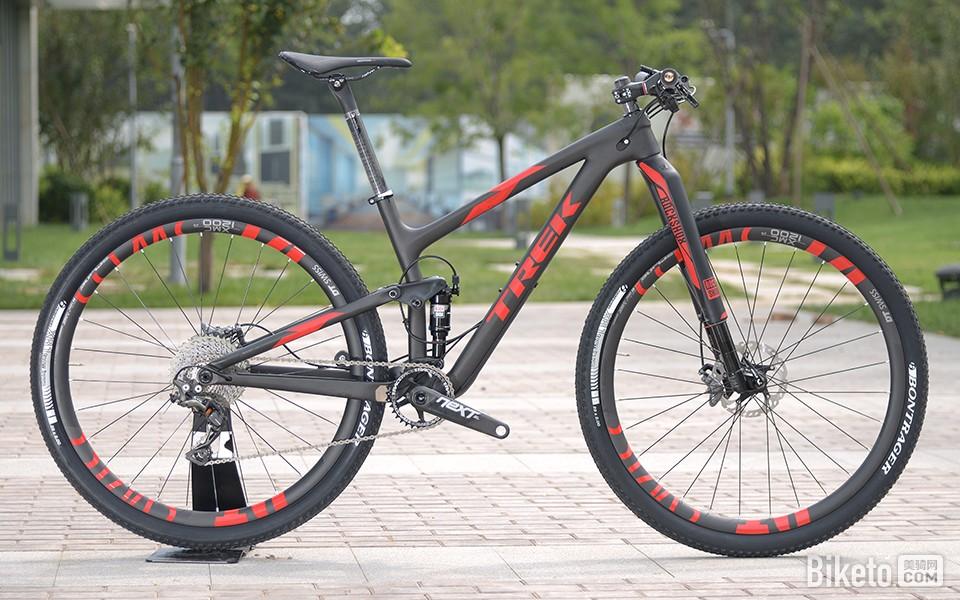 [顶级单车]TREK Top Fuel 9.9 SL山地车 - 美骑网