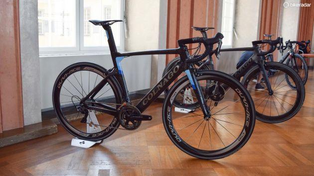 纤维空气动力学自行车图片