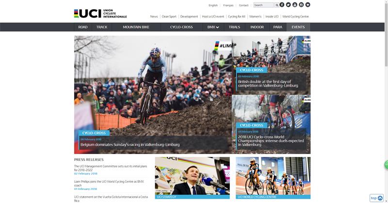 UCI官网