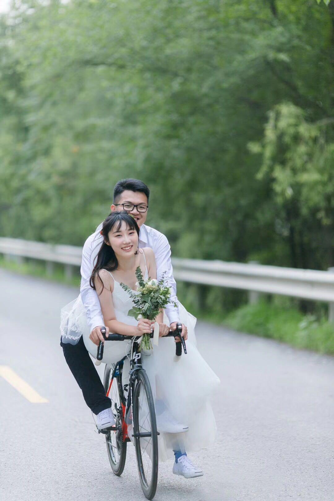 骑车,结婚