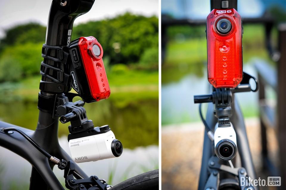 行车记录仪,自行车安全,道路安全,尾灯,摄像机