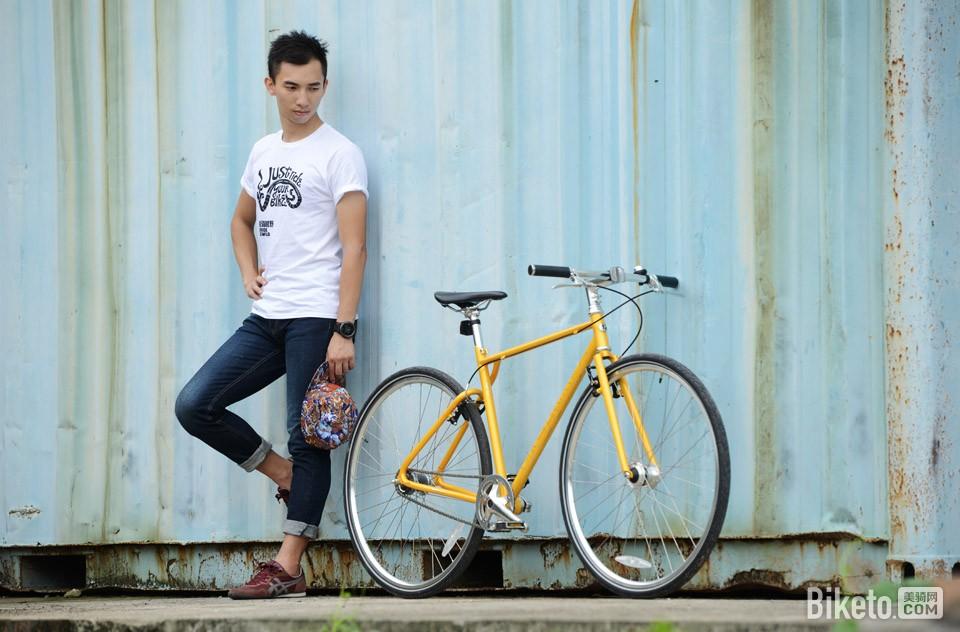 700Bike 后街城市自行车i