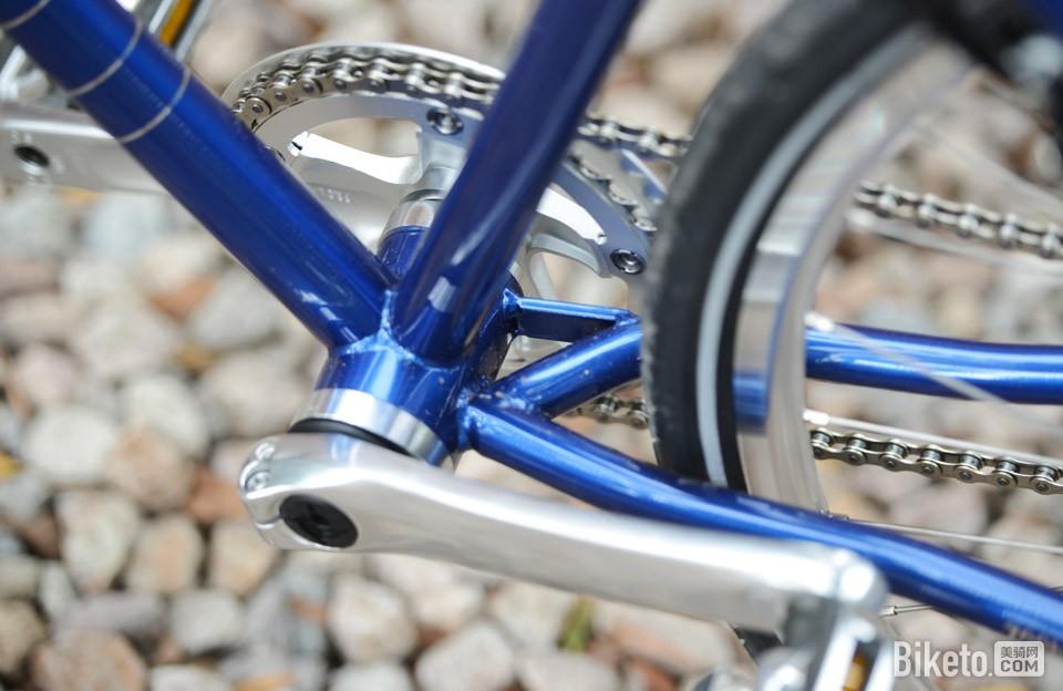 700Bike 后街城市自行车j