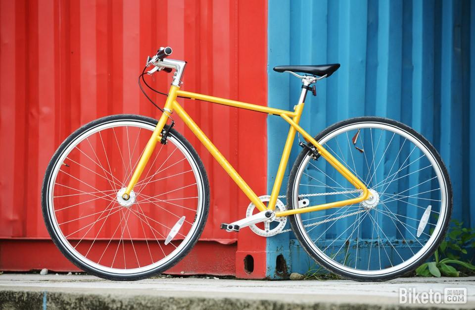 700Bike 后街城市自行车f