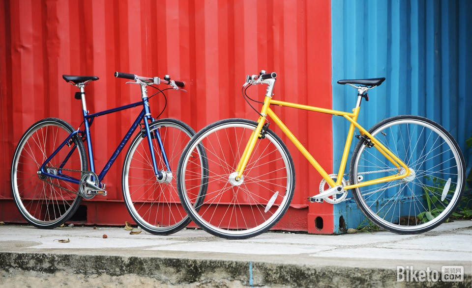 700Bike 后街城市自行车g