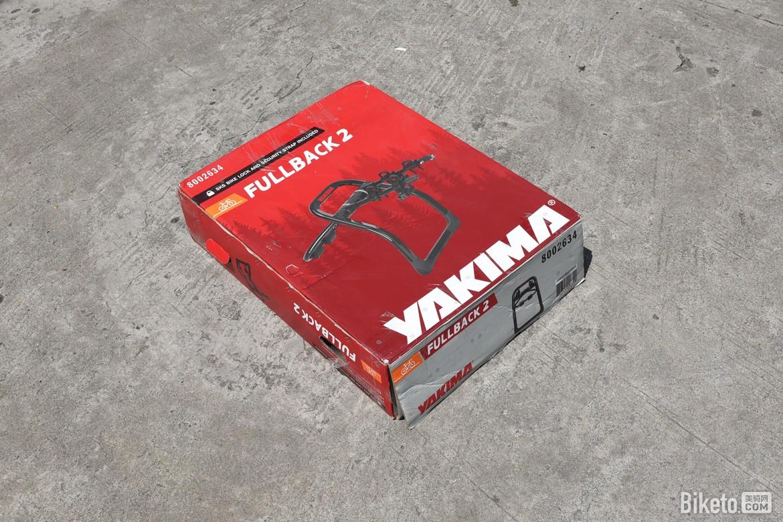 出行新方式 Yakima Fullback 2车尾架