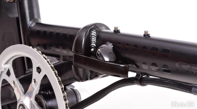 城市折叠随行所欲 骑达rbike r4助力自行车