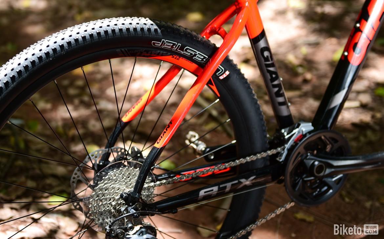靓丽动感 捷安特ATX850山地车|山地车|骑行装备与器材|评测 - 美骑网