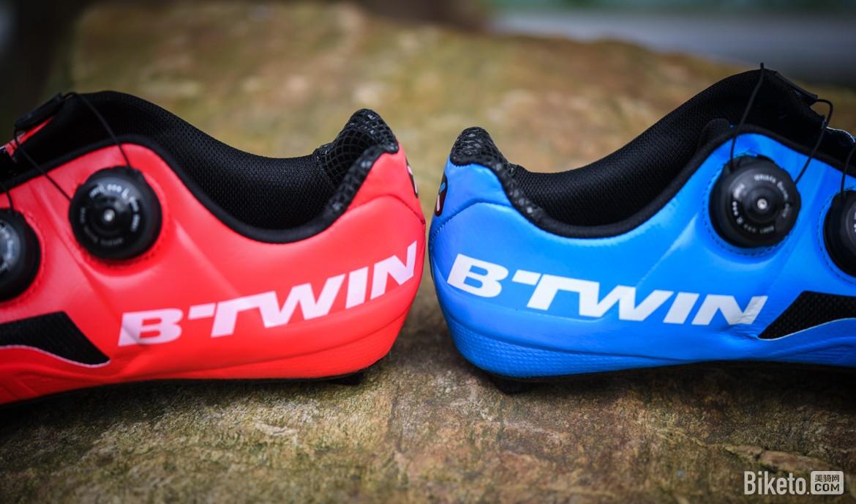 红蓝CP 迪卡侬B'TWIN 900鸳鸯锁鞋