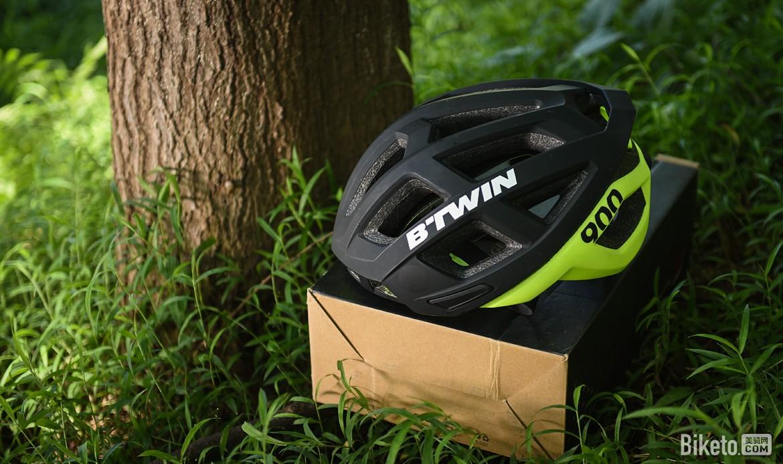 气动?透气?舒适?便宜? B'TWIN Aerofit 900头盔评测