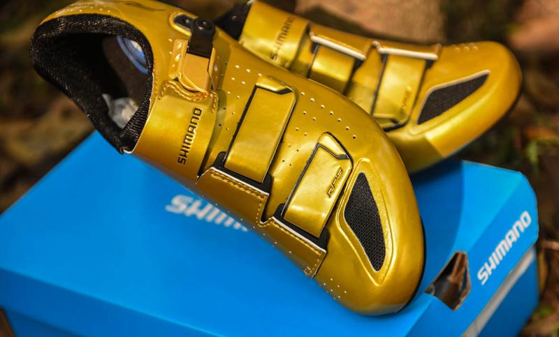 黄金圣斗士 Shimano RP5限量版公路锁鞋