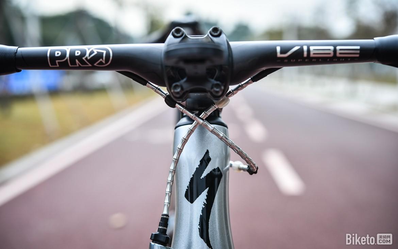 气动至上,不忘轻量 PRO VIBE SL碳纤维弯把评测
