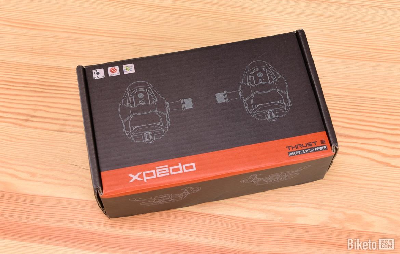 探索你的功率 Xpedo Thrust E功率计锁踏