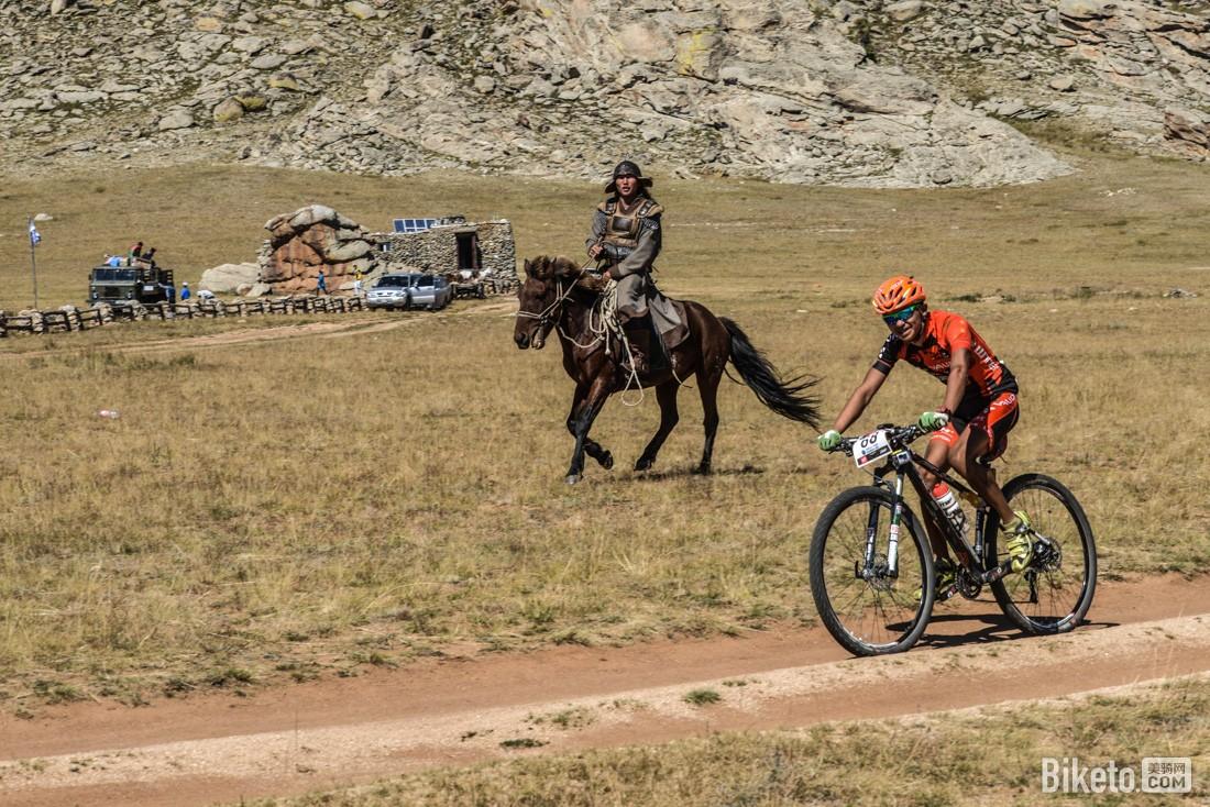 蒙古山地挑战赛 小松