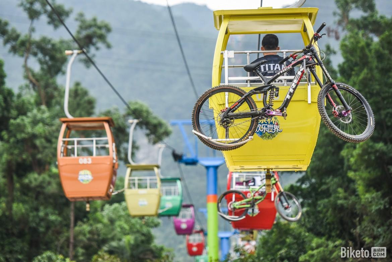 泉林亚洲DH山地自行车邀请赛