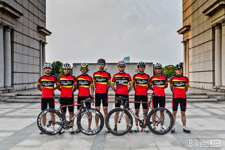 中国自行车联赛,中自联,上海交通大学复仇者车队