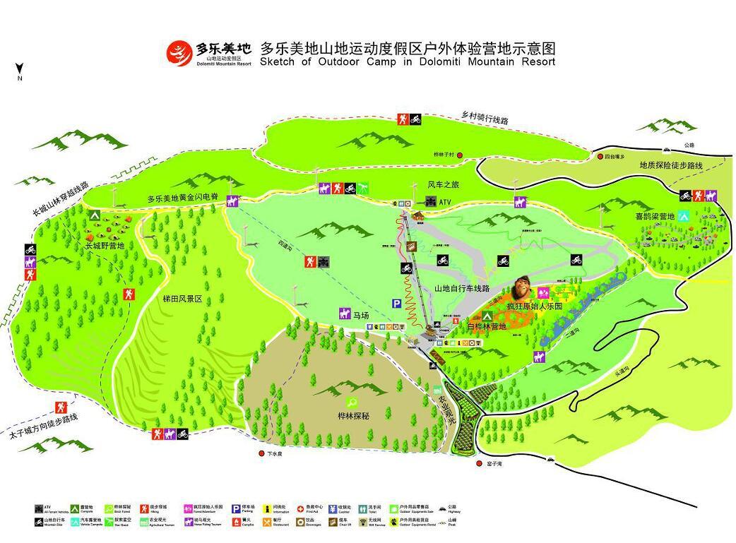 北京到崇礼地图