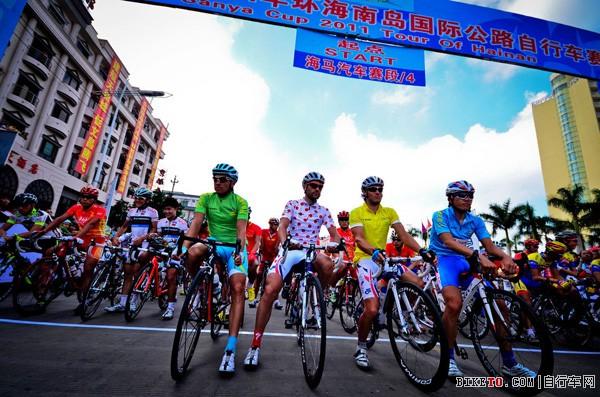 环海南岛国际公路自行车赛如约而至 规格更胜往年(图文)