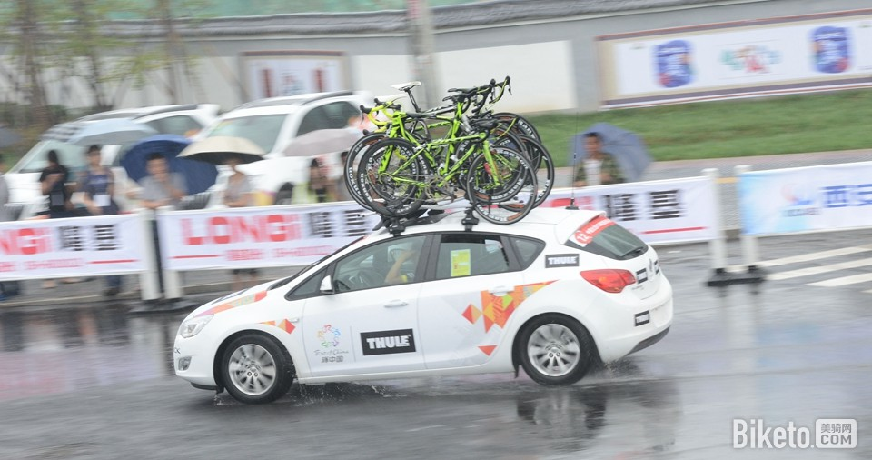 环中赛,2014环中国自行车赛,第一赛段,西安绕圈赛