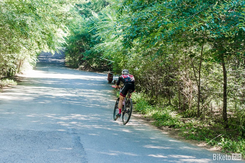 净月潭,山地自行车