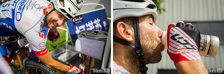 """中国·靖安""""茶立方""""国际山地自行车精英赛,江西靖安,米卡,米久江,魏魁"""