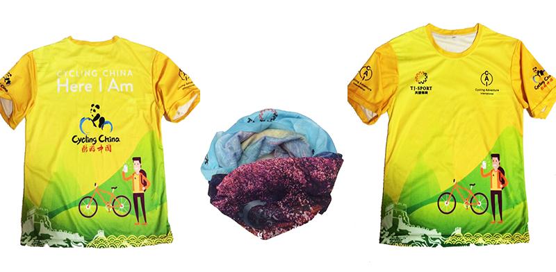 骑游中国T恤+XCR多日赛骑行头巾
