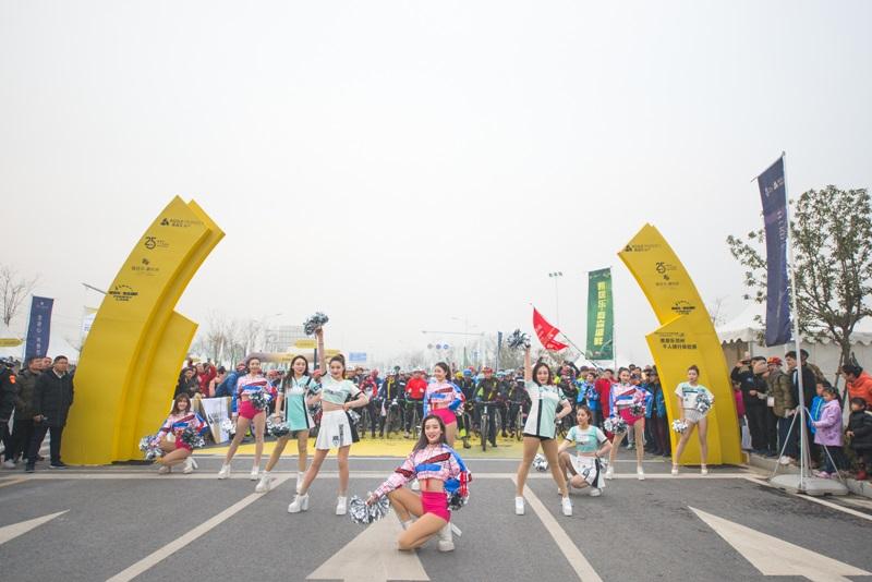 爱骑仕郑州雅乐居千人骑体验赛