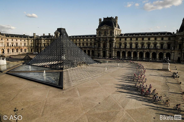 环法,卢浮宫