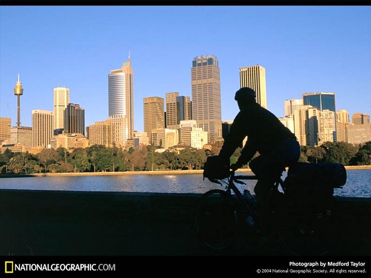 想象的骑车旅行