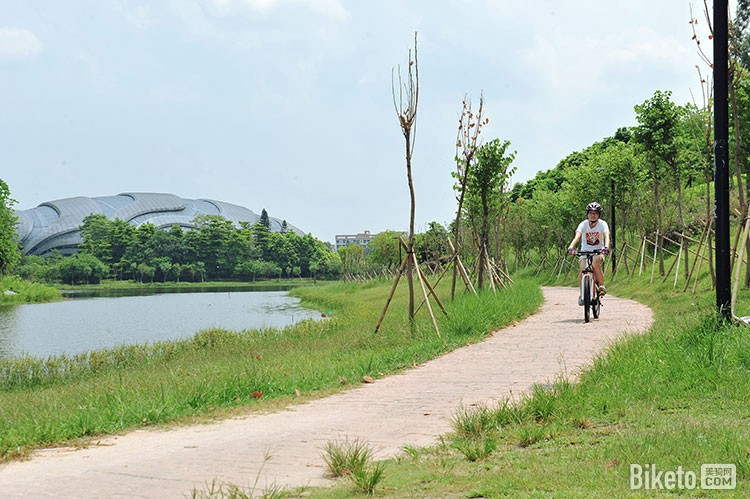 周末到广州大学城骑个车