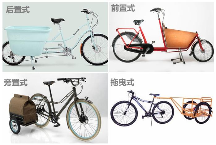 不同構造的貨運自行車.jpg