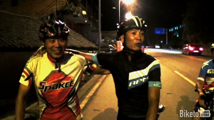 成渝公路夜骑