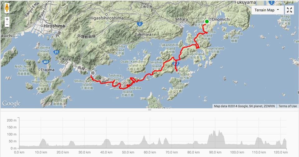 广岛在地图位置