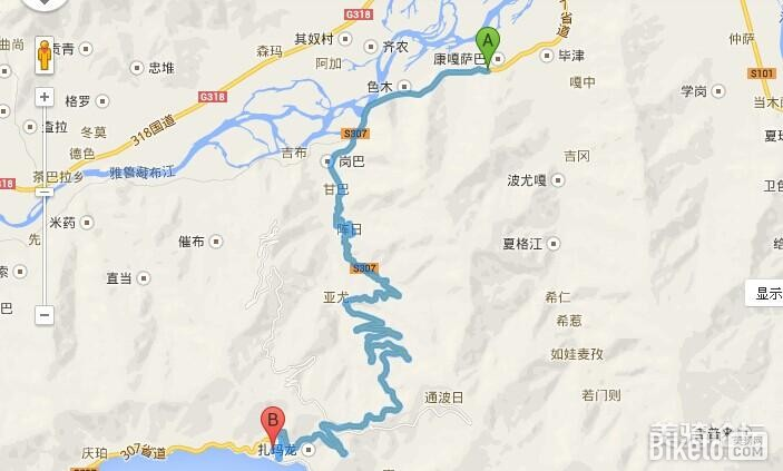椹盘山风景区地图