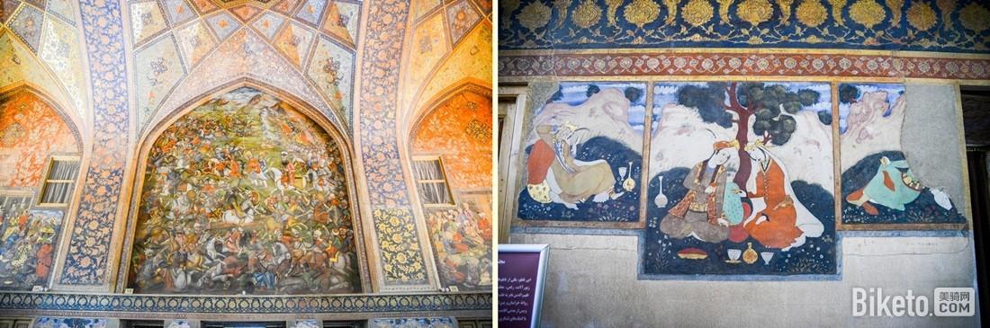 四十柱宫壁画