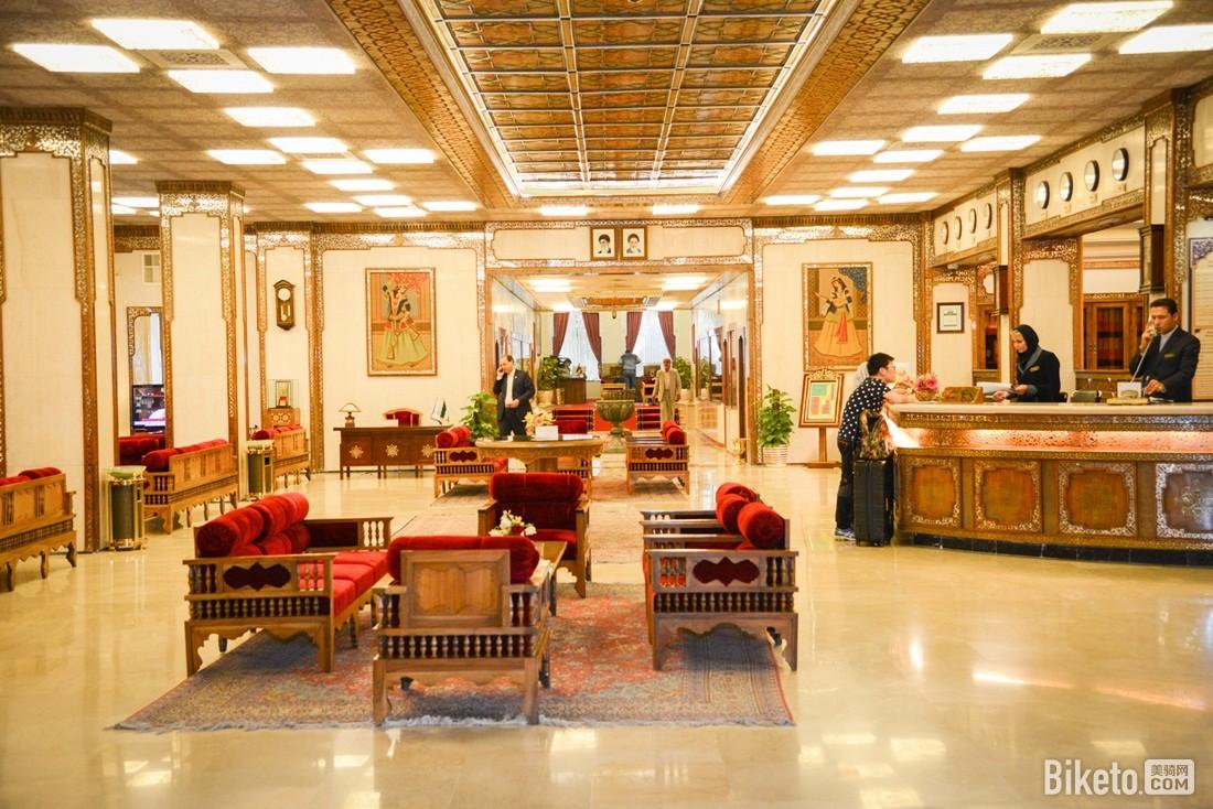 沙赫阿巴斯饭店大堂