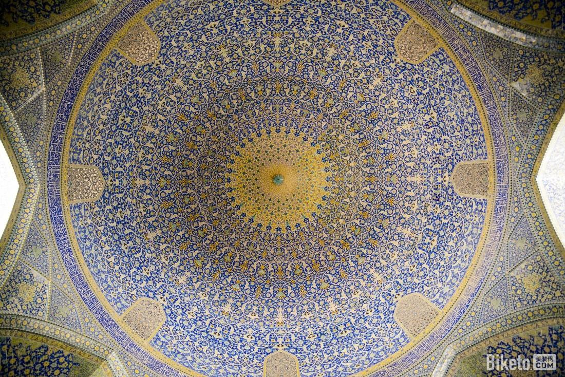 伊玛目清真寺拱顶