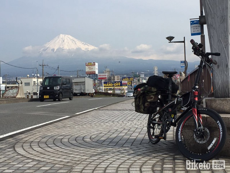 骑行游记,千里达,岛国骑游,日本骑游,折叠车