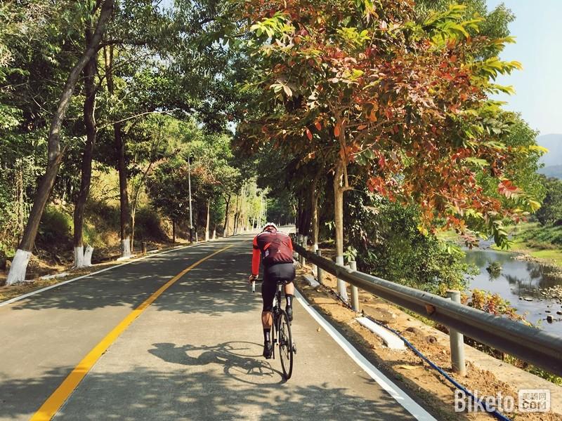 增城正果-罗浮山骑行爬坡拉练