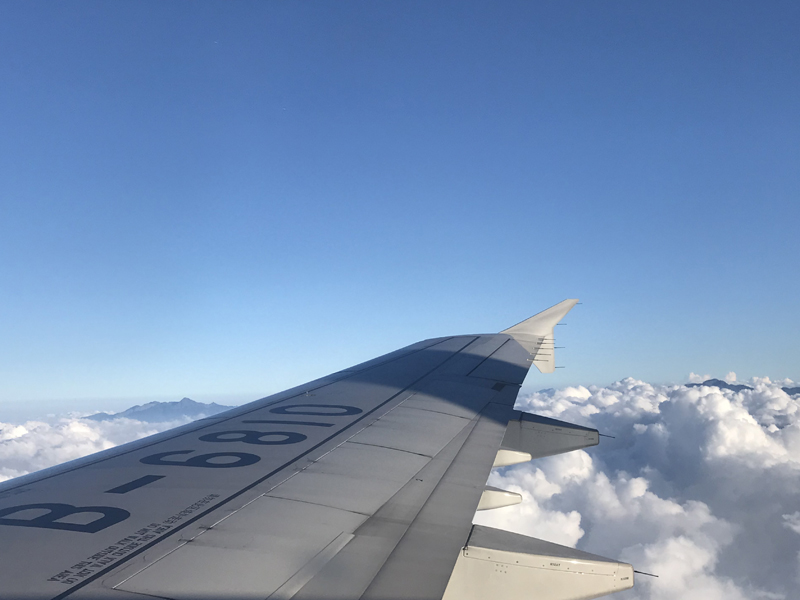 飞机,骑行